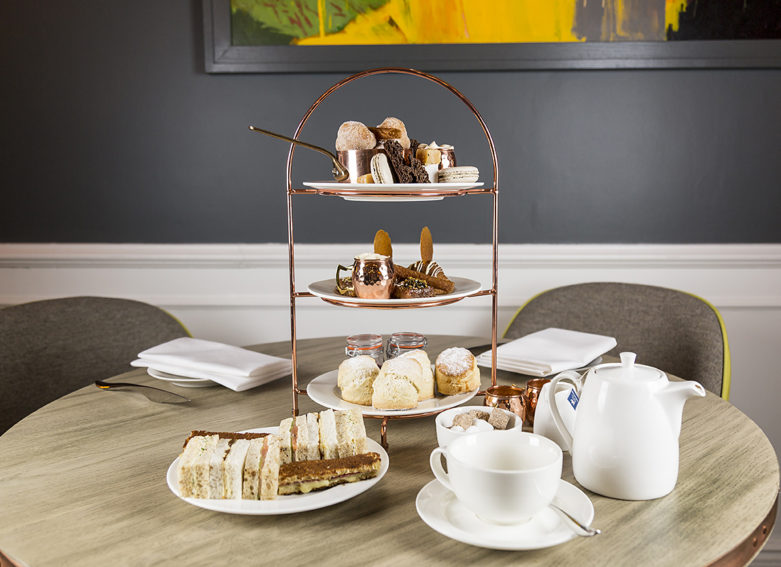 Afternoon tea in the Still Room - the Swan Southwold