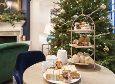 Festive afternoon tea - the Swan Southwold