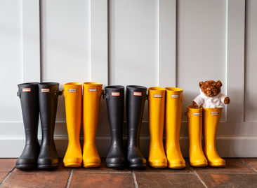 Hunter Wellington Boots now available from Reception